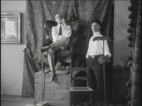 The Oyster Princess 1919 Ernst Lubitsch a silent movie review Nucki holds court