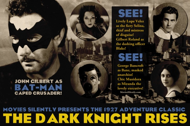 Silent Dark Knight Rises Silent Movie