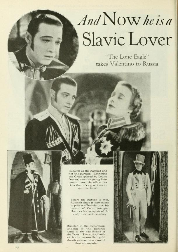 Valentino, the Great Slavic Lover!